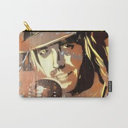 Tom Petty. painting. learning to fly. Carry-All Pouch