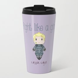 Fight Like a Girl 28 - Cassie Cage Travel Mug