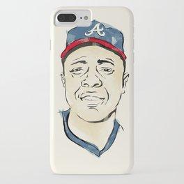 Hammerin' Hank Aaron iPhone Case