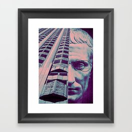 Power is Julius Caesar Quivering in His Own Blood Framed Art Print