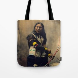 Shout At, Oglala Sioux, by Heyn Photo, 1899 Tote Bag