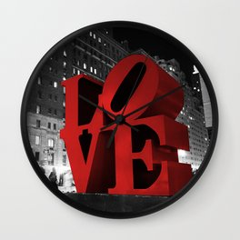 Love NYC Wall Clock