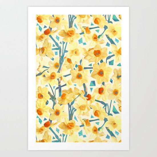 Yellow Jonquils Art Print
