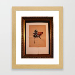 No Mixing Framed Art Print