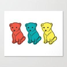 Little Lion Men Canvas Print