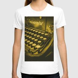 The typewriter T-shirt