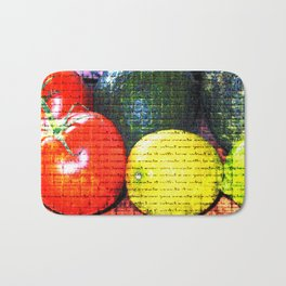 Fruit Bath Mat