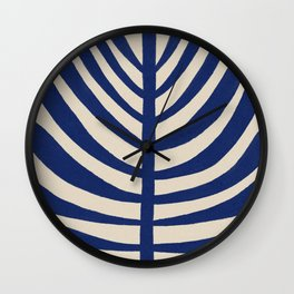 One Hundred-Leaved Plant #2 Wall Clock