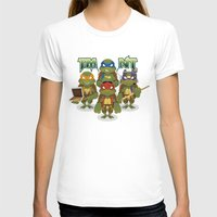 tmnt T-shirts featuring TMNT by Micka Design