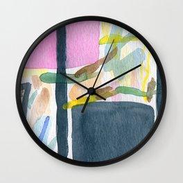 Abstract watercolor still life #2 Wall Clock