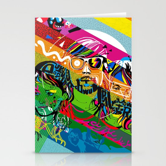 Tribute to Ed Banger Records Stationery Cards