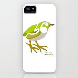 Rock Wren New Zealand Bird iPhone Case