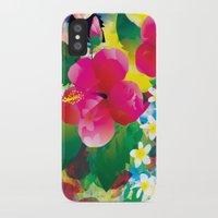hawaiian iPhone & iPod Cases featuring Hawaiian jungle by Akwaflorell