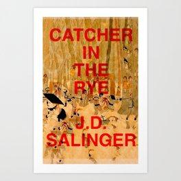 J.D. Salinger, Catcher in the Rye Art Print