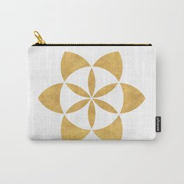 SEED OF LIFE minimal sacred geometry Carry-All Pouch