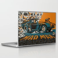 mad max Laptop & iPad Skins featuring Mad Max by Francesco Dibattista