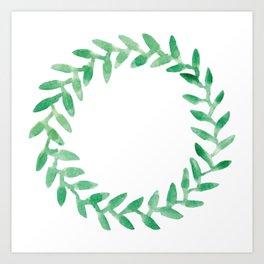 Leaf Series Art Print