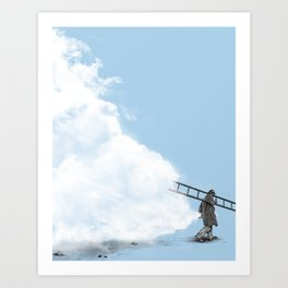 The Cloud Collector Art Print