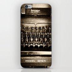 Remington Noiseless iPhone & iPod Skin