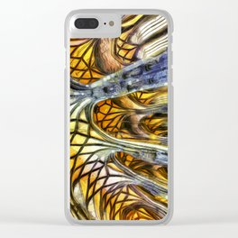 Vienna Cathedral Vincent Van Gogh Clear iPhone Case