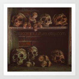 Catacomb Culture - Catacombs Art Print