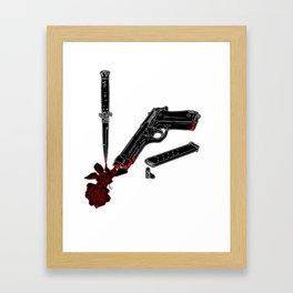 Guns and Posers Framed Art Print
