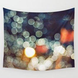 Bokeh Nights Wall Tapestry