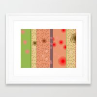 yoshi Framed Art Prints featuring yoshi by fiona mcdonald