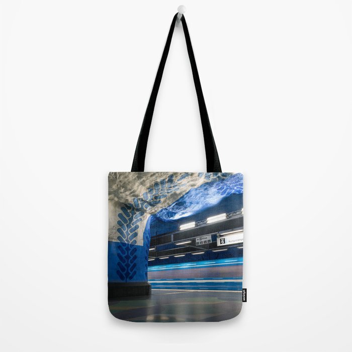 T-Centralen Metro Station in Stockholm, Sweden V Tote Bag