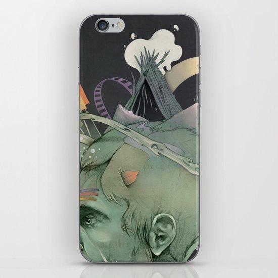 The traveler dreams iPhone & iPod Skin