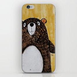 Mr. Bear iPhone Skin