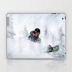 Travis Rice #2 Laptop & iPad Skin