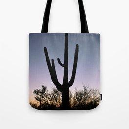Sunset Cacti Tote Bag