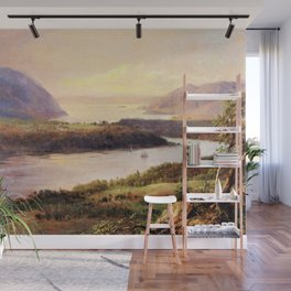 Highlands on the Hudson Landscape by Frederic Irwin Church Wall Mural