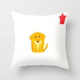 Spats Throw Pillow