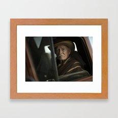 Joshua Tree Portrait 2 Framed Art Print