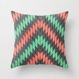 ZigZag 2 Throw Pillow