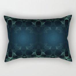 Krystaly Rectangular Pillow