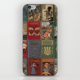 The Golden Age of Book Design iPhone Skin