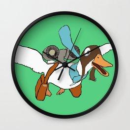 Hi-Tech Duck Wall Clock