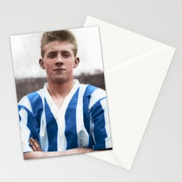 Denis Law at Huddersfield Town Stationery Cards