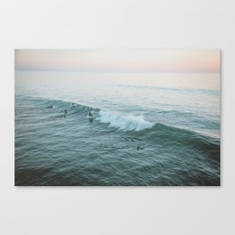 Let's Surf V Canvas Print