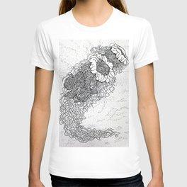 Jellyfish drawing T-shirt