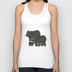 Wandering Bears Unisex Tank Top