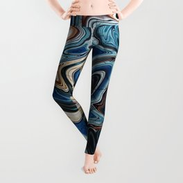 Calcite Marble Opal stone Leggings