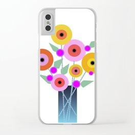 Floral Potpourri Clear iPhone Case
