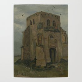 The Old Church Tower at Nuenen Poster
