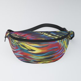 Abstract #2 Bright Multicolor Fanny Pack