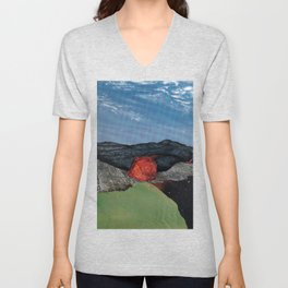Somewhere Unisex V-Neck