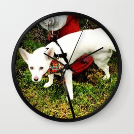 Leave Your Mark Wall Clock